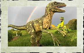 Dinosaures grandeur nature